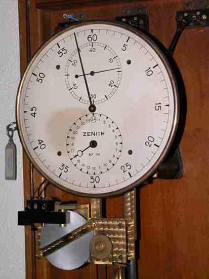 Quartz Renverser En Arrière Mouvement D/'horloge Mécanisme Moteur Long Mains
